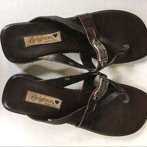 Brighton Brown Sandals Size 9M